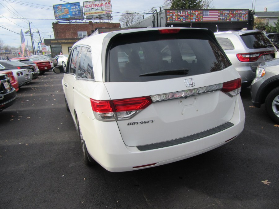 2014 Honda Odyssey 5dr EX-L w/Navi, available for sale in Little Ferry, New Jersey | Royalty Auto Sales. Little Ferry, New Jersey