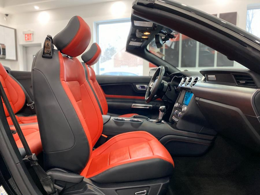 2018 Ford Mustang EcoBoost Premium Convertible, available for sale in Franklin Square, New York | Luxury Motor Club. Franklin Square, New York
