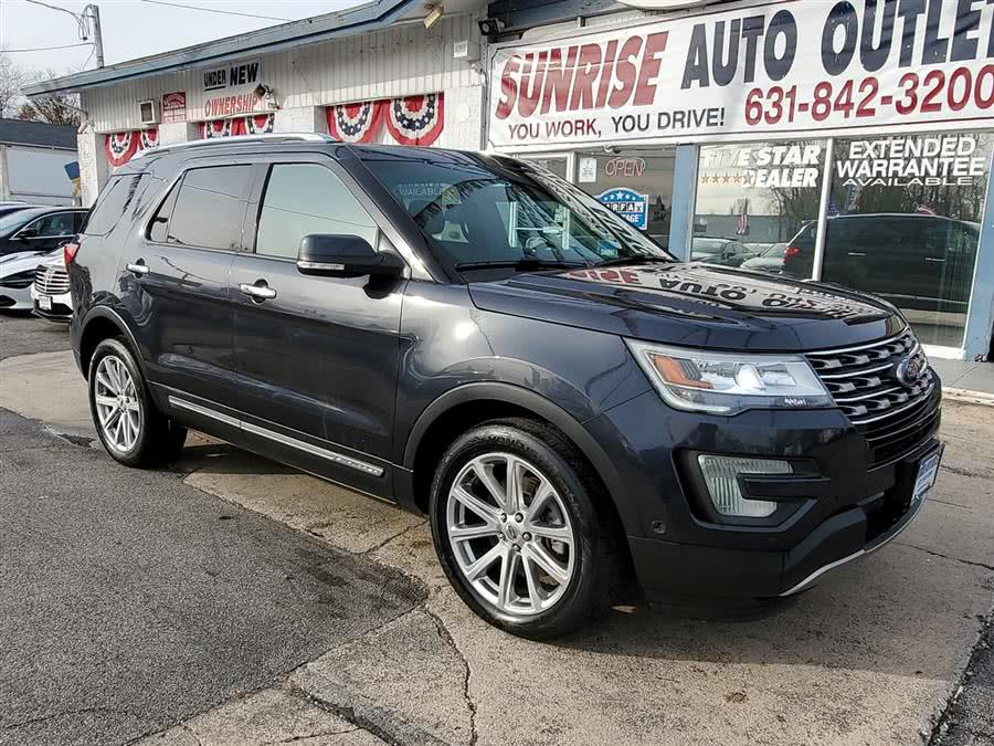Used 2017 Ford Explorer in Amityville, New York | Sunrise Auto Outlet. Amityville, New York