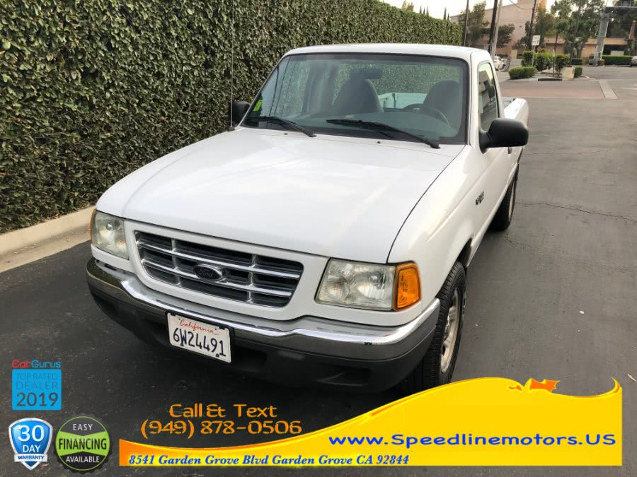Used 2002 Ford Ranger in Garden Grove, California | Speedline Motors. Garden Grove, California