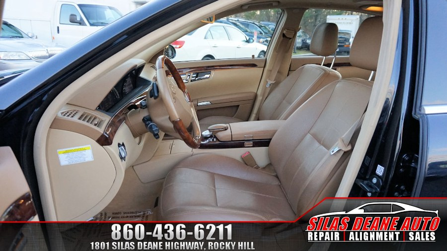 Used Mercedes-Benz S-Class 4dr Sdn 5.5L V8 4MATIC 2009 | Silas Deane Auto LLC. Rocky Hill , Connecticut