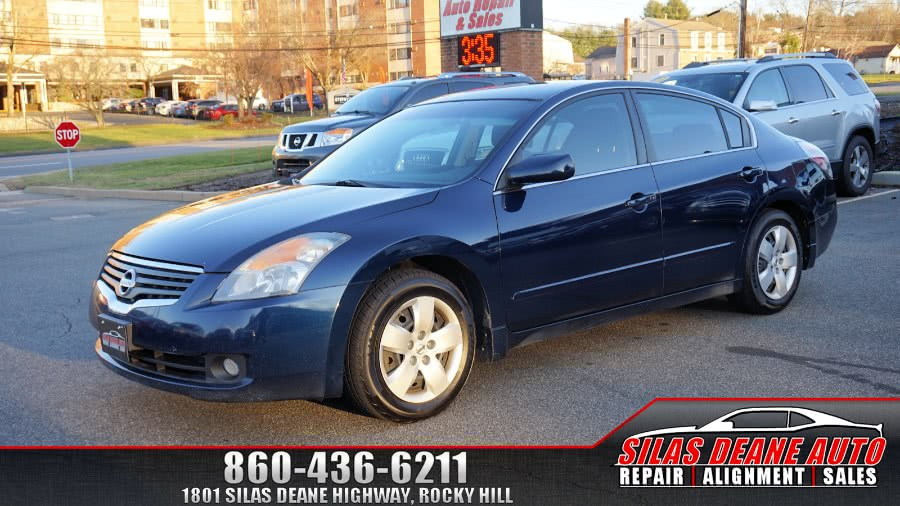 Used Nissan Altima 4dr Sdn I4 CVT 2.5 S 2008 | Silas Deane Auto LLC. Rocky Hill , Connecticut
