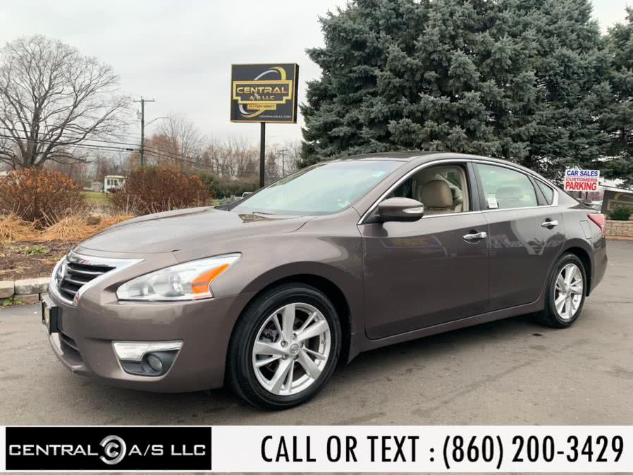 Used Nissan Altima 4dr Sdn I4 2.5 S 2013 | Central A/S LLC. East Windsor, Connecticut