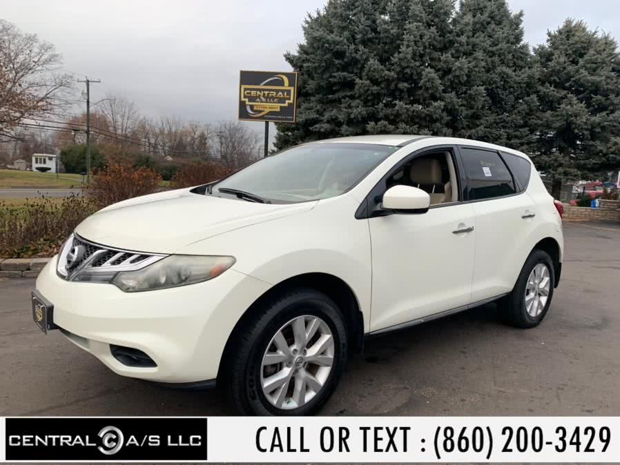 Used Nissan Murano AWD 4dr S 2011 | Central A/S LLC. East Windsor, Connecticut