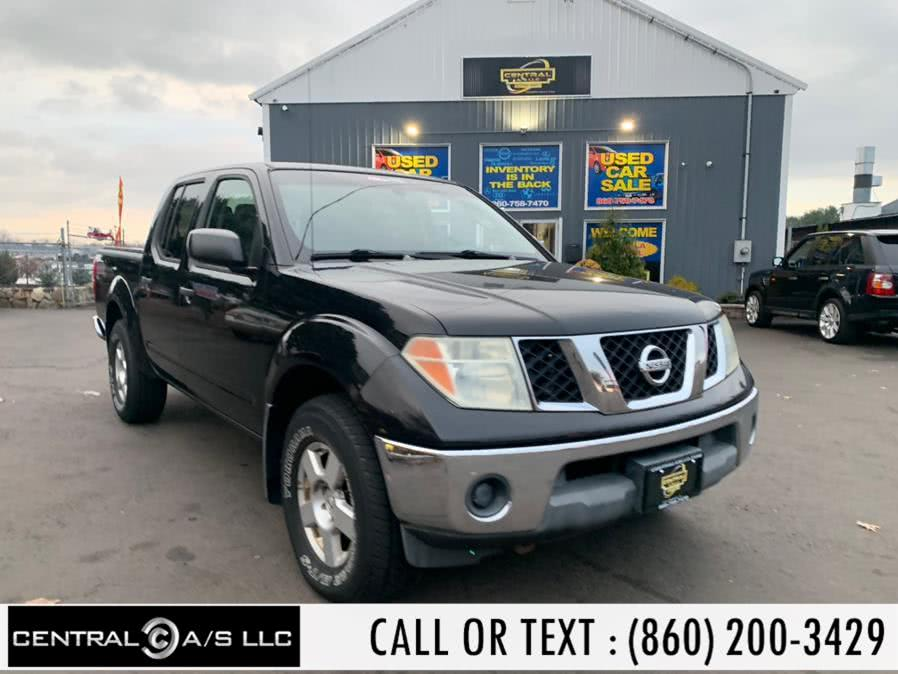 Used Nissan Frontier SE Crew Cab V6 Auto 4WD 2006 | Central A/S LLC. East Windsor, Connecticut