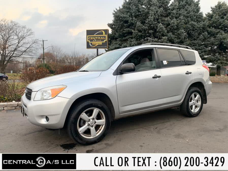 Used Toyota RAV4 4WD 4dr 4-cyl 4-Spd AT (Natl) 2008 | Central A/S LLC. East Windsor, Connecticut