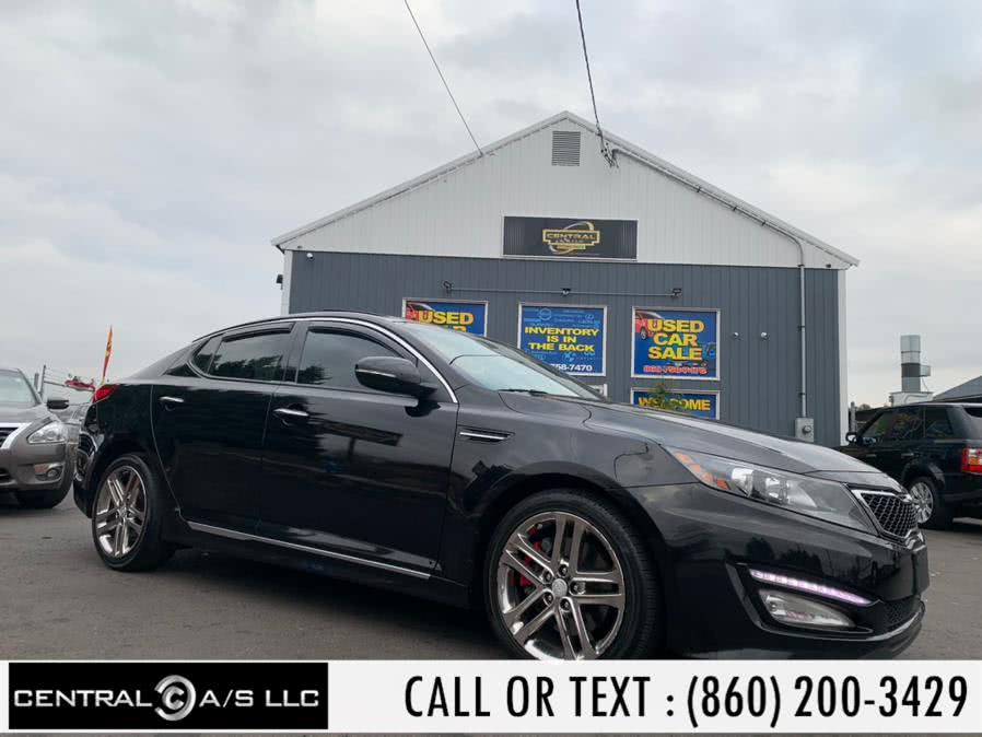 Used Kia Optima 4dr Sdn SX 2013 | Central A/S LLC. East Windsor, Connecticut