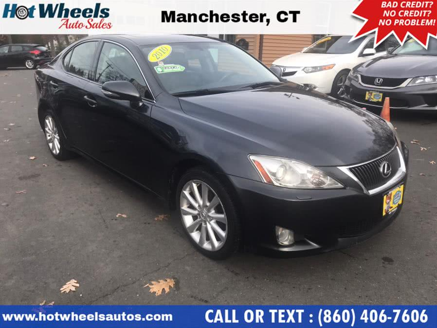 Used Lexus IS 250 4dr Sport Sdn Auto AWD 2010 | Hot Wheels Auto Sales LLC. Manchester, Connecticut