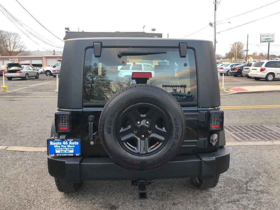 Used Jeep Wrangler 4WD 2dr X 2008 | Route 46 Auto Sales Inc. Lodi, New Jersey