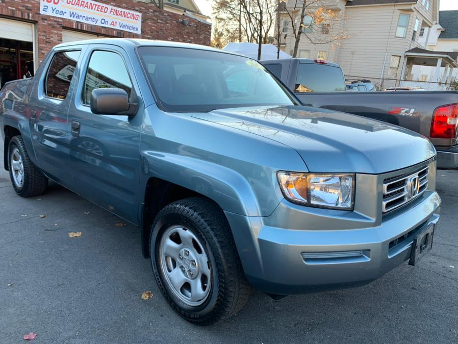 2007 Honda Ridgeline 4WD Crew Cab RT, available for sale in New Britain, Connecticut | Central Auto Sales & Service. New Britain, Connecticut