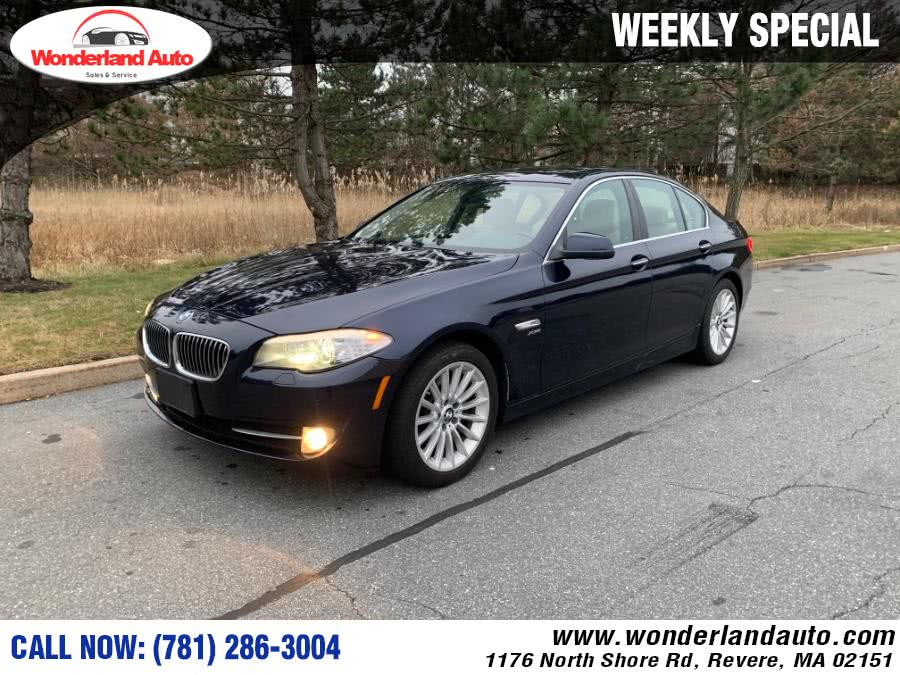 Used 2011 BMW 5 Series in Revere, Massachusetts | Wonderland Auto. Revere, Massachusetts
