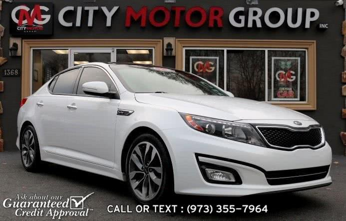 Used Kia Optima SX 2015 | City Motor Group Inc.. Haskell, New Jersey