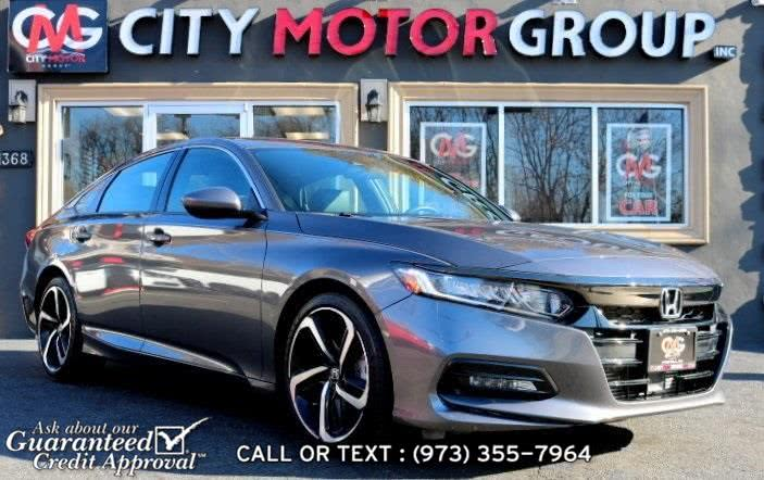 Used Honda Accord Sport 2018 | City Motor Group Inc.. Haskell, New Jersey