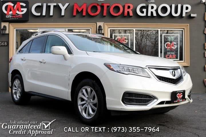 Used Acura Rdx Technology Package 2017 | City Motor Group Inc.. Haskell, New Jersey
