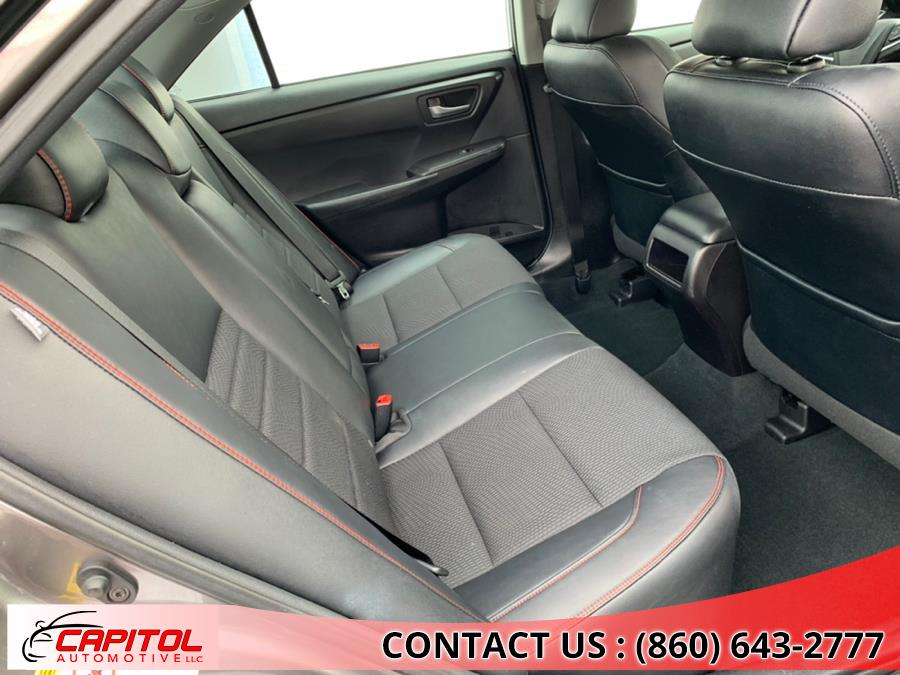 2017 Toyota Camry SE Automatic (Natl), available for sale in Manchester, Connecticut | Capitol Automotive 2 LLC. Manchester, Connecticut