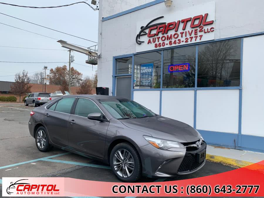 Used 2017 Toyota Camry in Manchester, Connecticut | Capitol Automotive 2 LLC. Manchester, Connecticut