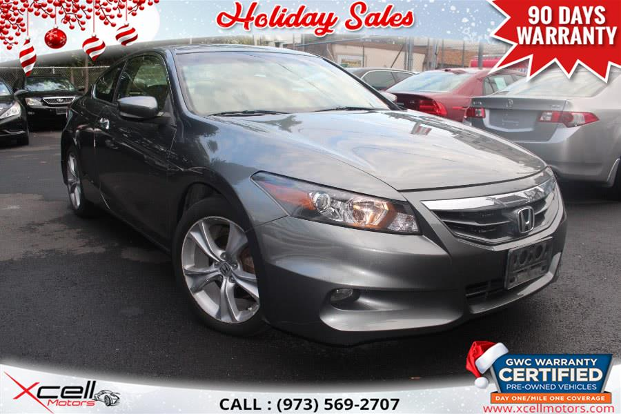 Used 2011 Honda Accord Cpe in Paterson, New Jersey | Xcell Motors LLC. Paterson, New Jersey