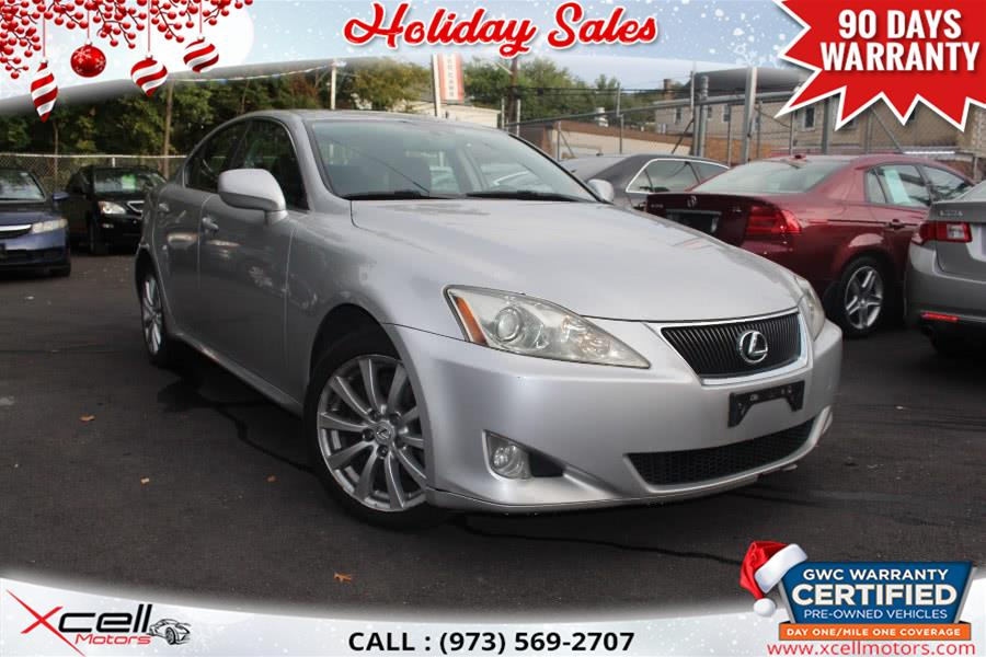 Used 2008 Lexus IS 250 AWD/NAVI in Paterson, New Jersey | Xcell Motors LLC. Paterson, New Jersey