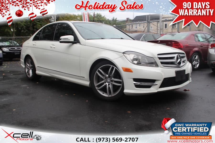Used Mercedes-Benz C-Class 4dr Sdn C300 Sport 4MATIC 2012 | Xcell Motors LLC. Paterson, New Jersey