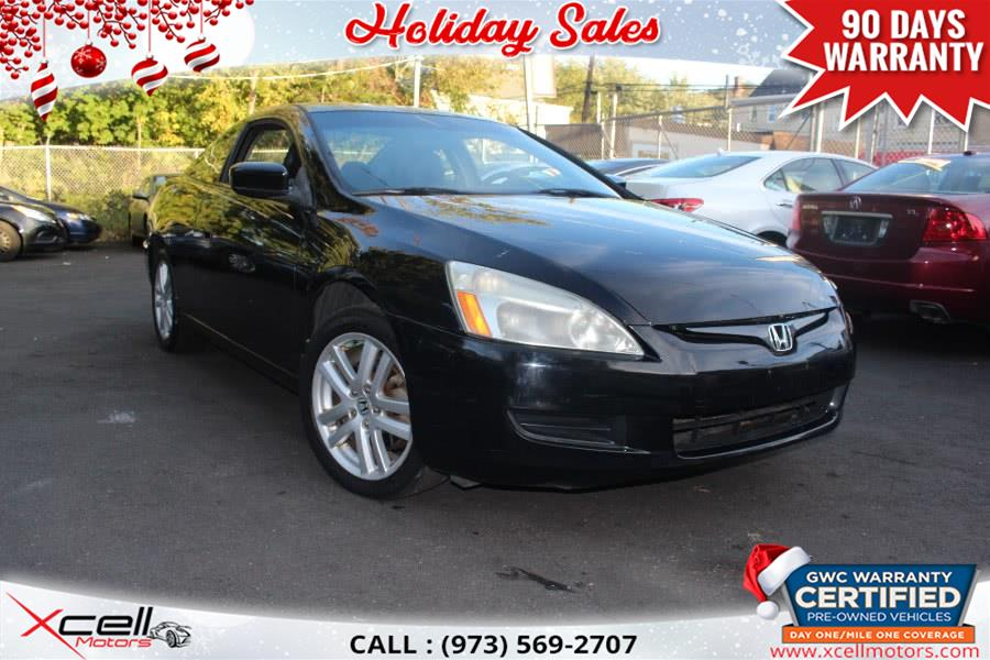 Used 2005 Honda Accord EX-L Cpe/Manual in Paterson, New Jersey | Xcell Motors LLC. Paterson, New Jersey