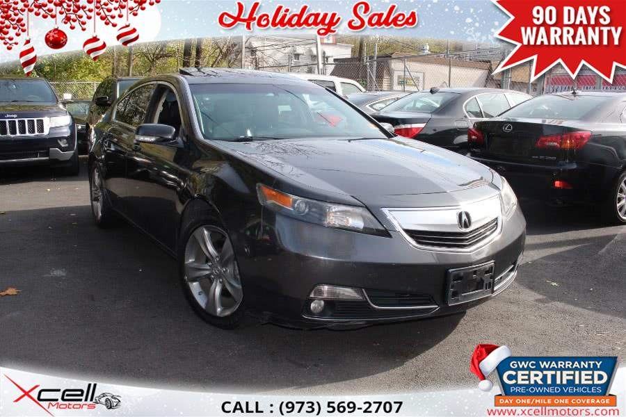 Used 2012 Acura TL in Paterson, New Jersey | Xcell Motors LLC. Paterson, New Jersey