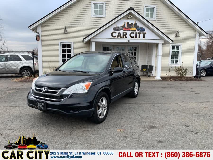 2011 Honda CR-V 4WD 5dr EX-L, available for sale in East Windsor, Connecticut | Car City LLC. East Windsor, Connecticut