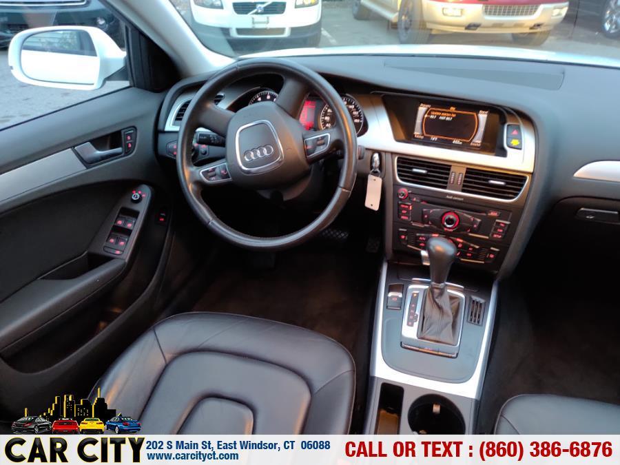 Used Audi A4 4dr Sdn Auto quattro 2.0T Premium 2011 | Car City LLC. East Windsor, Connecticut