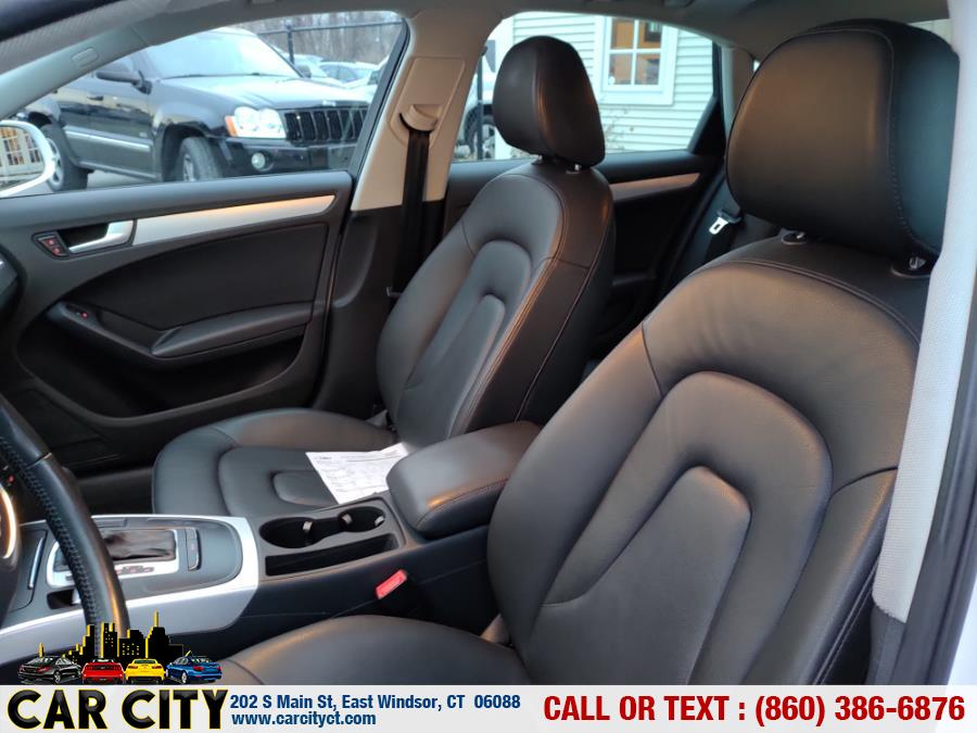 2011 Audi A4 4dr Sdn Auto quattro 2.0T Premium, available for sale in East Windsor, Connecticut | Car City LLC. East Windsor, Connecticut