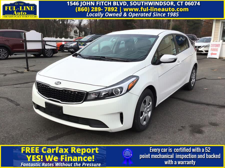 Used Kia Forte5 LX Auto 2017 | Ful-line Auto LLC. South Windsor , Connecticut