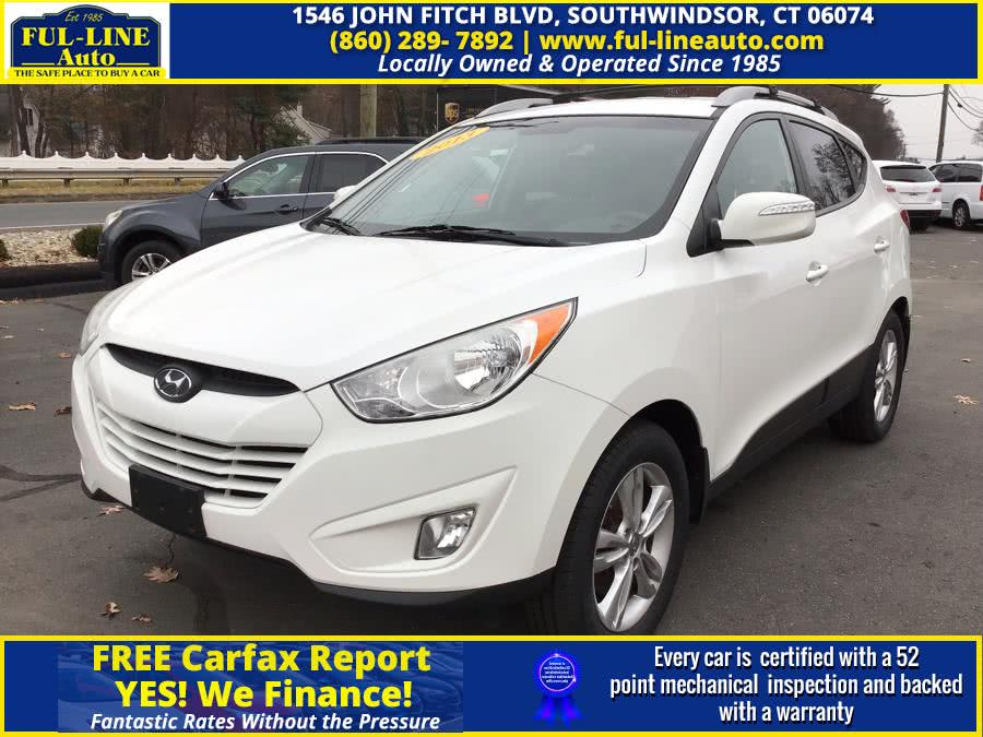 Used Hyundai Tucson AWD 4dr Auto GLS 2013 | Ful-line Auto LLC. South Windsor , Connecticut