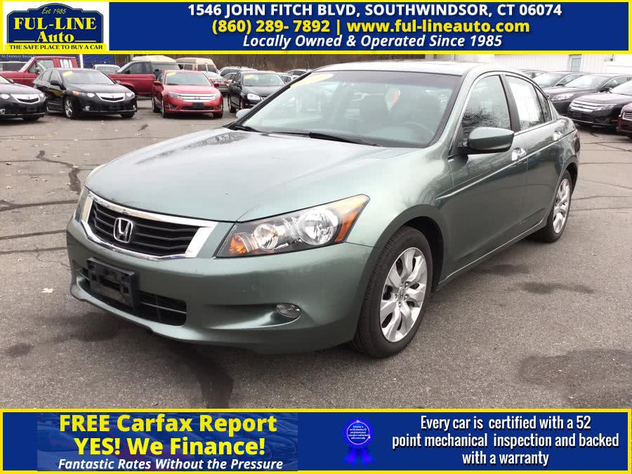 Used Honda Accord Sdn 4dr V6 Auto EX-L 2009 | Ful-line Auto LLC. South Windsor , Connecticut