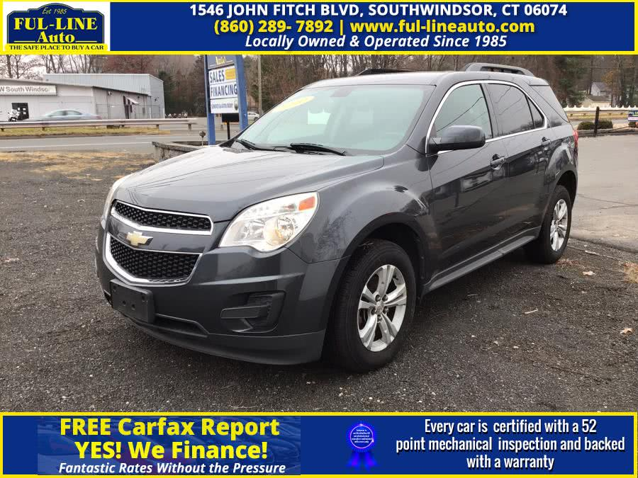 Used Chevrolet Equinox AWD 4dr LT w/1LT 2010 | Ful-line Auto LLC. South Windsor , Connecticut