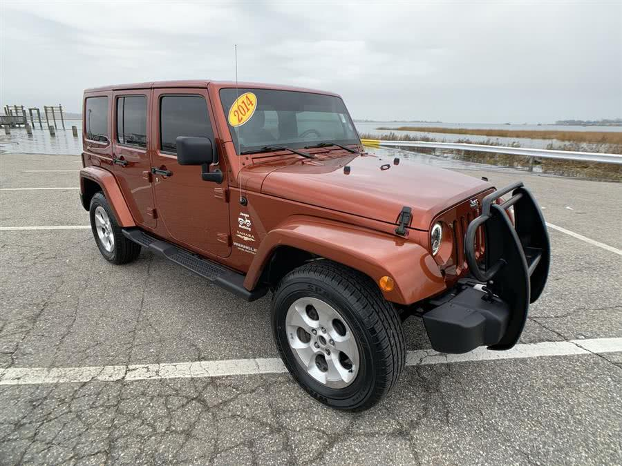 Used Jeep Wrangler Unlimited 4WD 4dr Sahara 2014 | Wiz Leasing Inc. Stratford, Connecticut