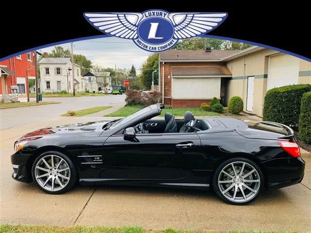 2013 Mercedes-benz Sl-class SL 63 AMG, available for sale in Cincinnati, Ohio | Luxury Motor Car Company. Cincinnati, Ohio
