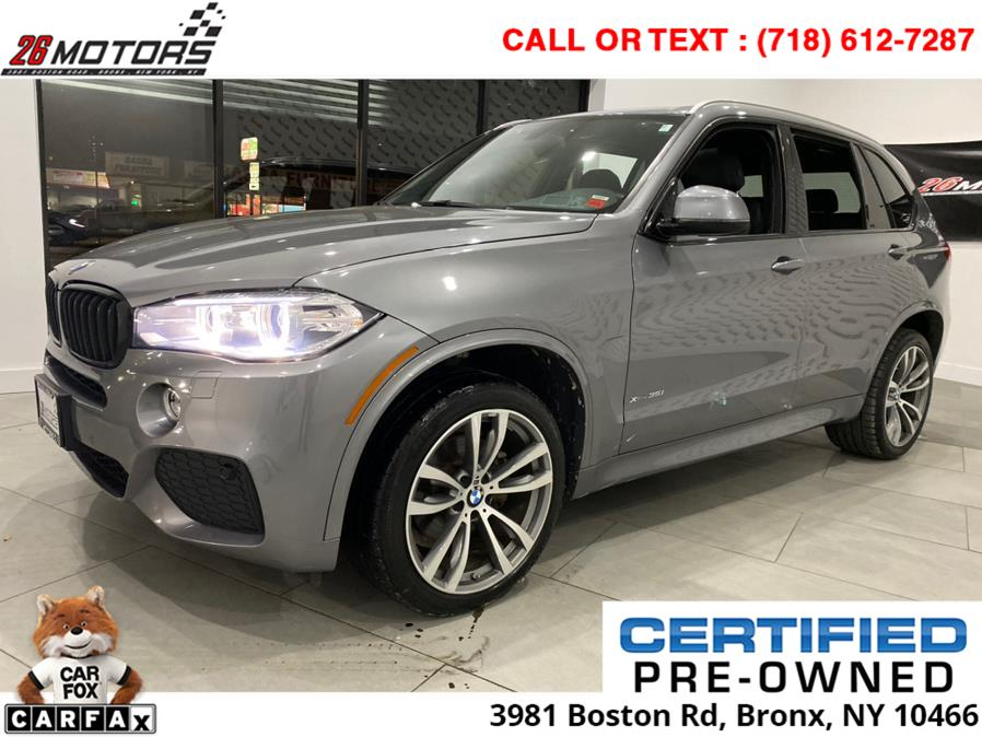 2017 BMW X5 ///M Sport Package xDrive35i Sports Activity Vehicle, available for sale in Bronx, New York | 26 Motors Corp. Bronx, New York