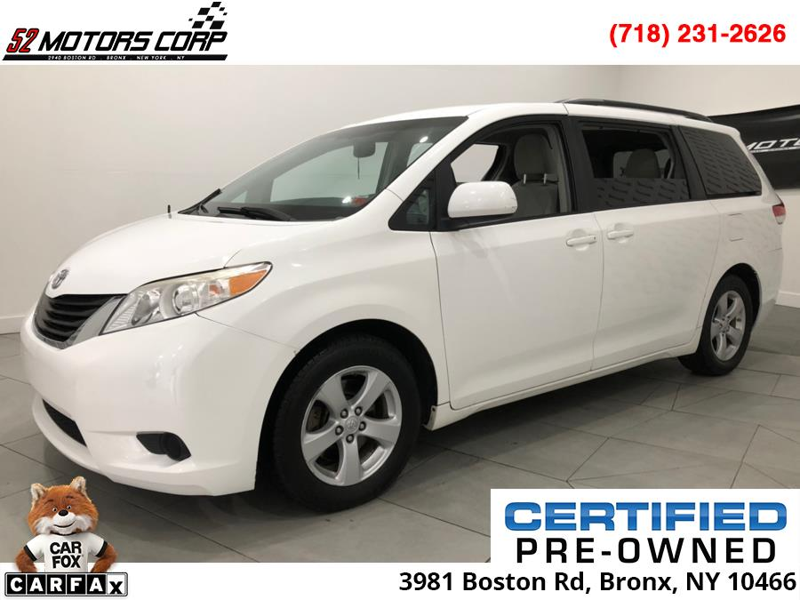 2011 Toyota Sienna 5dr 7-Pass Van V6 LE FWD (Natl), available for sale in Woodside, New York   52Motors Corp. Woodside, New York