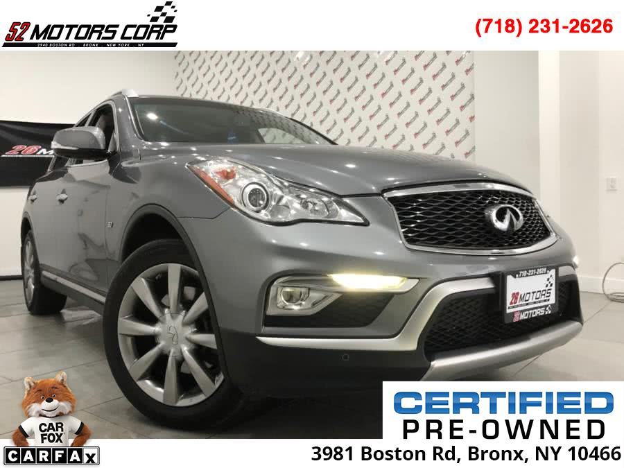 Used INFINITI QX50 AWD 4dr 2016 | 52Motors Corp. Woodside, New York