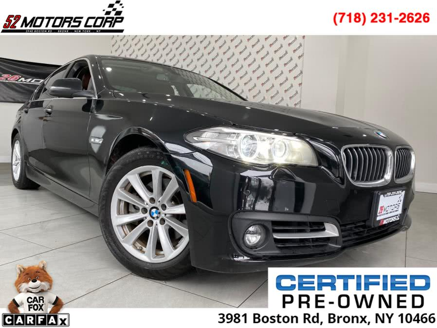 Used 2016 BMW 5 Series in Bronx, New York | 52Motors Corp. Bronx, New York