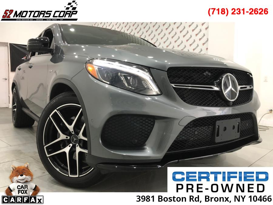 2019 Mercedes-Benz GLE ///AMG AMG GLE 43 4MATIC Coupe, available for sale in Bronx, New York | 52Motors Corp. Bronx, New York