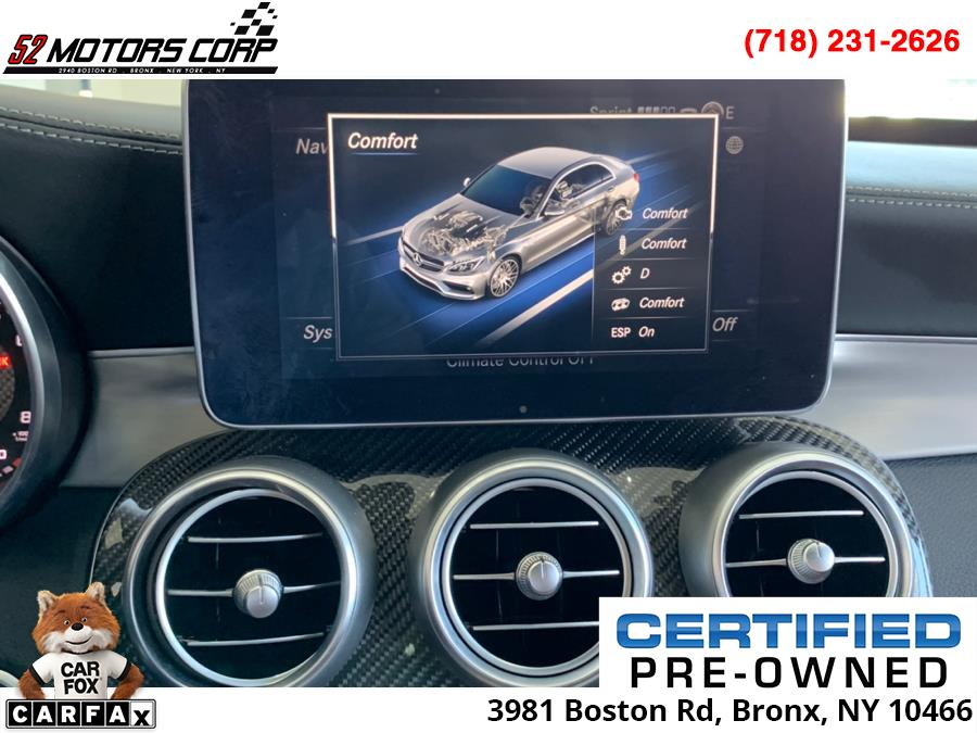 Used Mercedes-Benz C-Class ///AMG 4dr Sdn AMG C 63 S RWD 2016 | 52Motors Corp. Woodside, New York