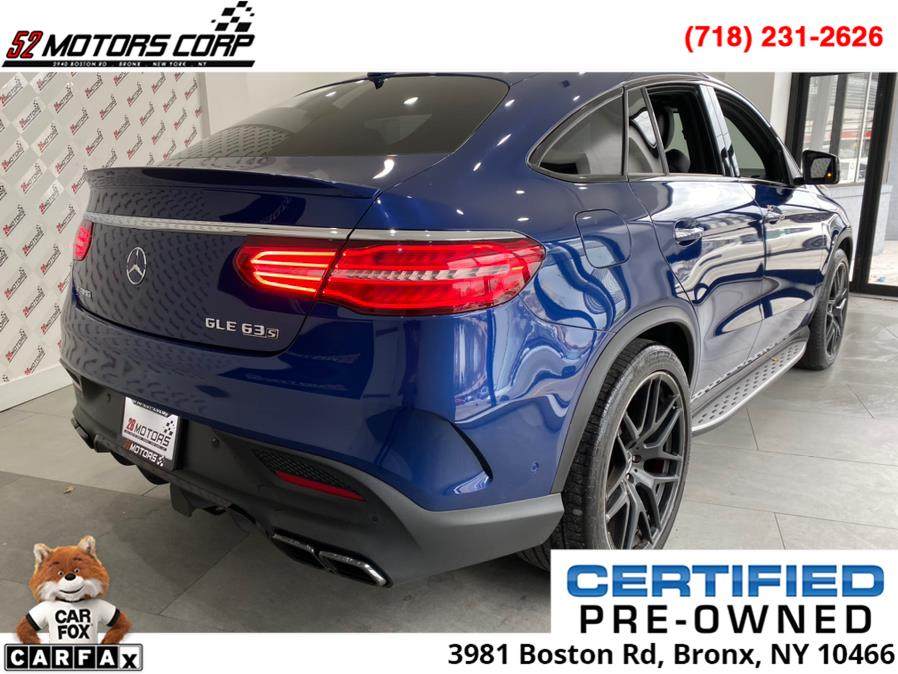 2017 Mercedes-Benz GLE ///AMG AMG GLE 63 S 4MATIC Coupe, available for sale in Bronx, New York | 52Motors Corp. Bronx, New York