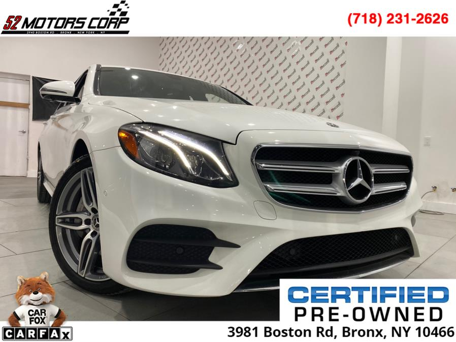 Used Mercedes-Benz E-Class ///AMG Package E 450 4MATIC Sedan 2019 | 52Motors Corp. Woodside, New York