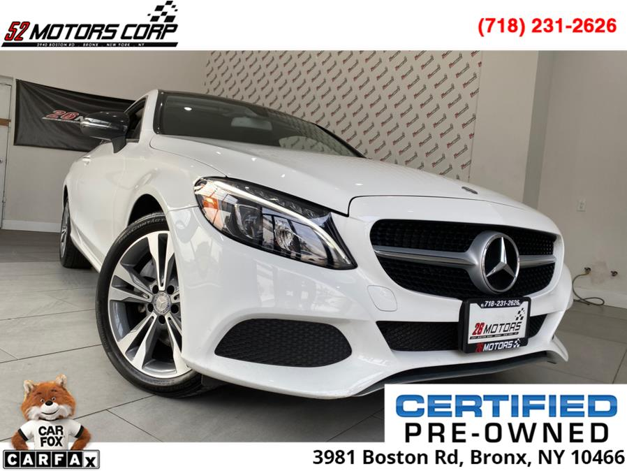 Used Mercedes-Benz C-Class C300 4MATIC Coupe 2017 | 52Motors Corp. Woodside, New York