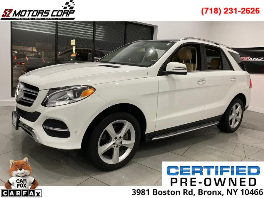 Used 2016 Mercedes-Benz GLE in Bronx, New York | 52Motors Corp. Bronx, New York