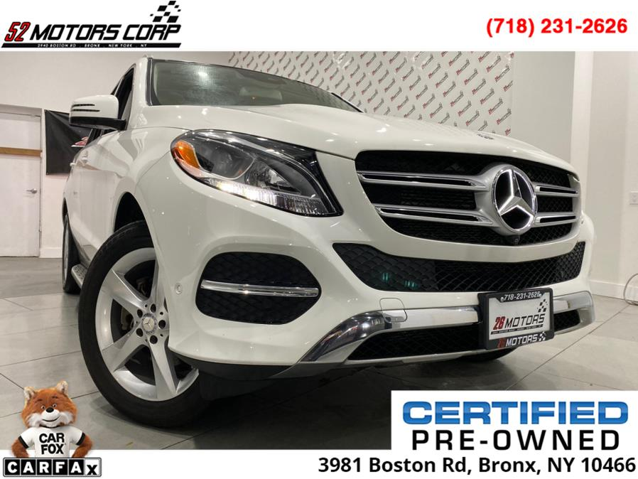 2016 Mercedes-Benz GLE 4MATIC 4dr GLE 350, available for sale in Bronx, New York | 52Motors Corp. Bronx, New York
