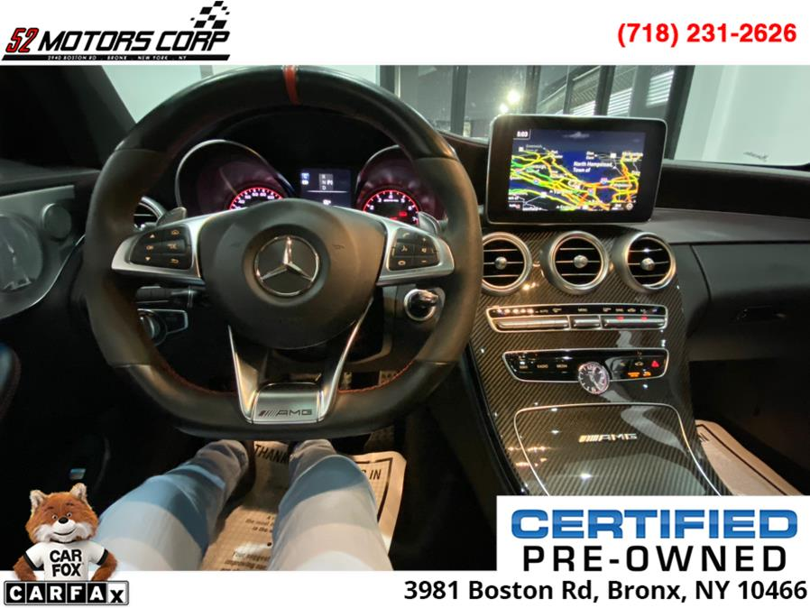 2017 Mercedes-Benz C-Class ///AMG AMG C 63 S Coupe, available for sale in Bronx, New York | 52Motors Corp. Bronx, New York