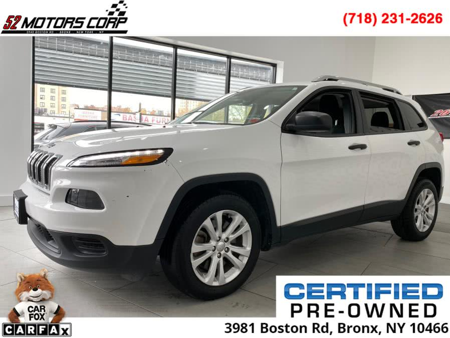 Used 2015 Jeep Cherokee in Woodside, New York | 52Motors Corp. Woodside, New York
