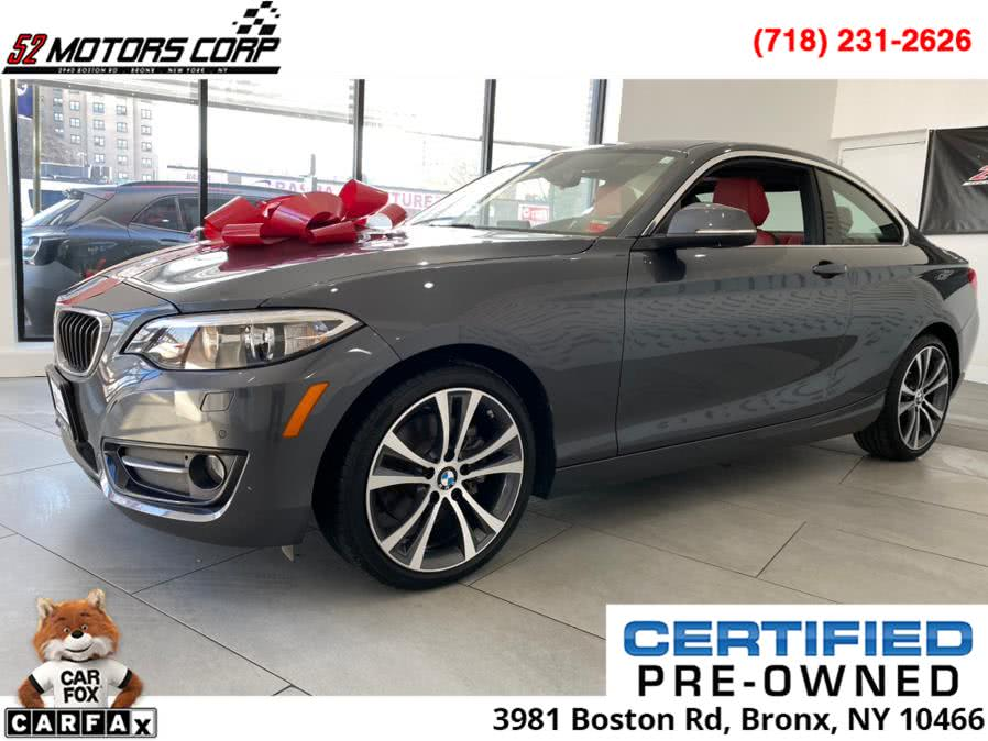 Used 2016 BMW 2 Series Sport Line in Bronx, New York | 52Motors Corp. Bronx, New York