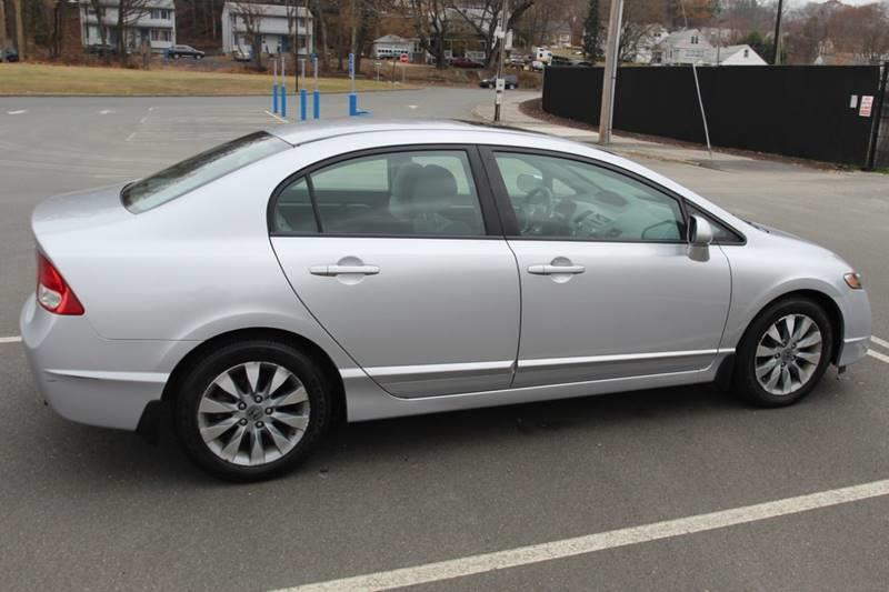 2009 Honda Civic EX 4dr Sedan 5A, available for sale in Waterbury, Connecticut | Sphinx Motorcars. Waterbury, Connecticut