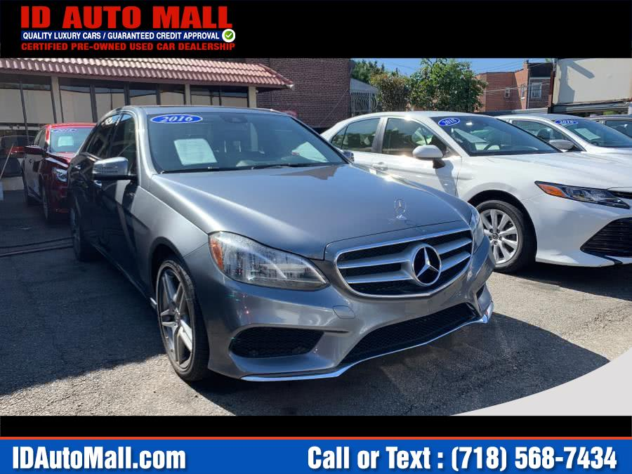 Used 2016 Mercedes-benz E-class in South Richmond Hill, New York | ID Auto Mall . South Richmond Hill, New York